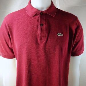 Lacoste Men's Classic Fit Piqué Polo Shirt, L